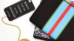 Cynthia Rowley is one of many designers office product lines to bring your desk to life
