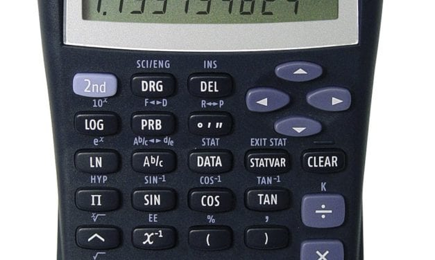 TI-30XIIS 2-Line Scientific Calculator