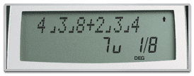 TI-30XIIS Scientific Calculator - Perform operations with fractions and mixed numbers